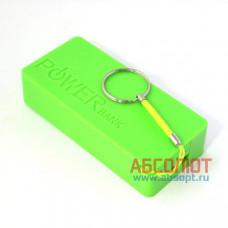 Внешний аккумулятор Power Bank X2 (зелёный)