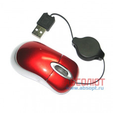 Компьютерная мышь MT-568 800dpi USB PS/2 (красный)