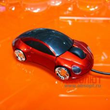 Компьютерная мышь MT-844 1000dpi USB PS/2 (красный)
